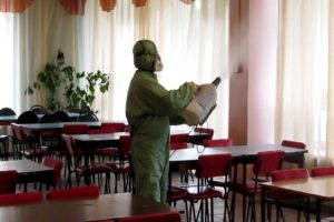 ДЕЗИНФЕКЦИЯ ТОЧЕК ОБЩЕПИТА В Саранске